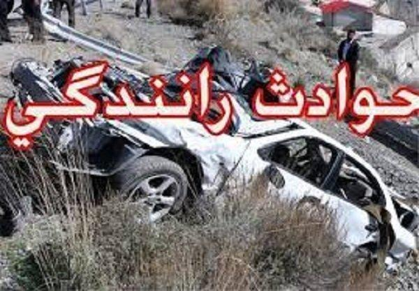 3 مصدوم پی حادثه رانندگی در گلستان