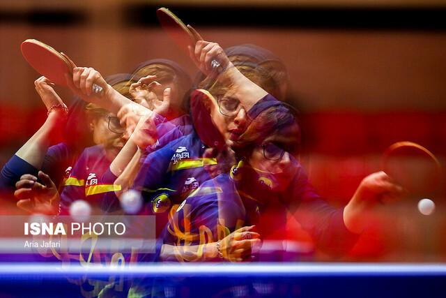 شکست ندا شهسواری در مسابقات پینگ پنگ پرتغال