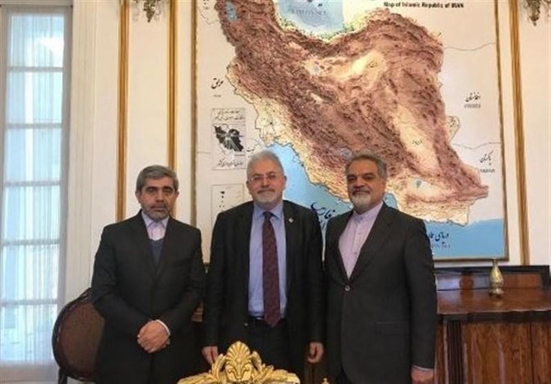 دیدار نماینده مجلس ترکیه با سفیر ایران