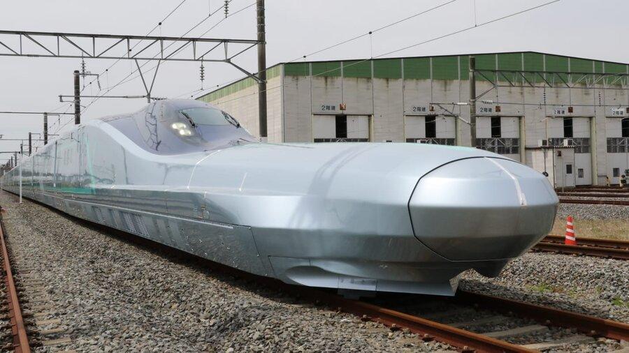 ژاپن سریع ترین قطار دنیا را مورد آزمایش قرار داد