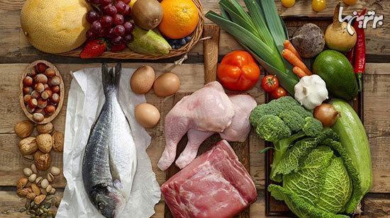 غذا های کم چرب، اما سرشار از پروتئین برای ورزشکاران