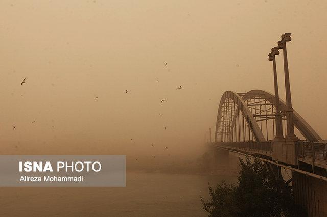 وزش باد شدید و خیزش گرد و خاک در چهار استان کشور
