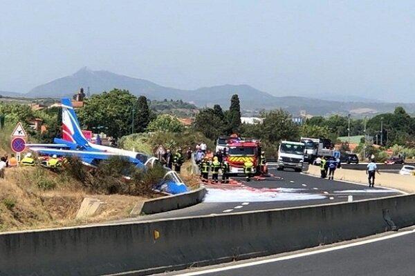 هواپیمای متعلق به نیروی هوایی فرانسه سقوط کرد