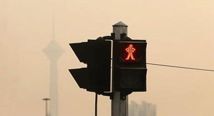 کاهش موقتی کیفیت هوای تهران