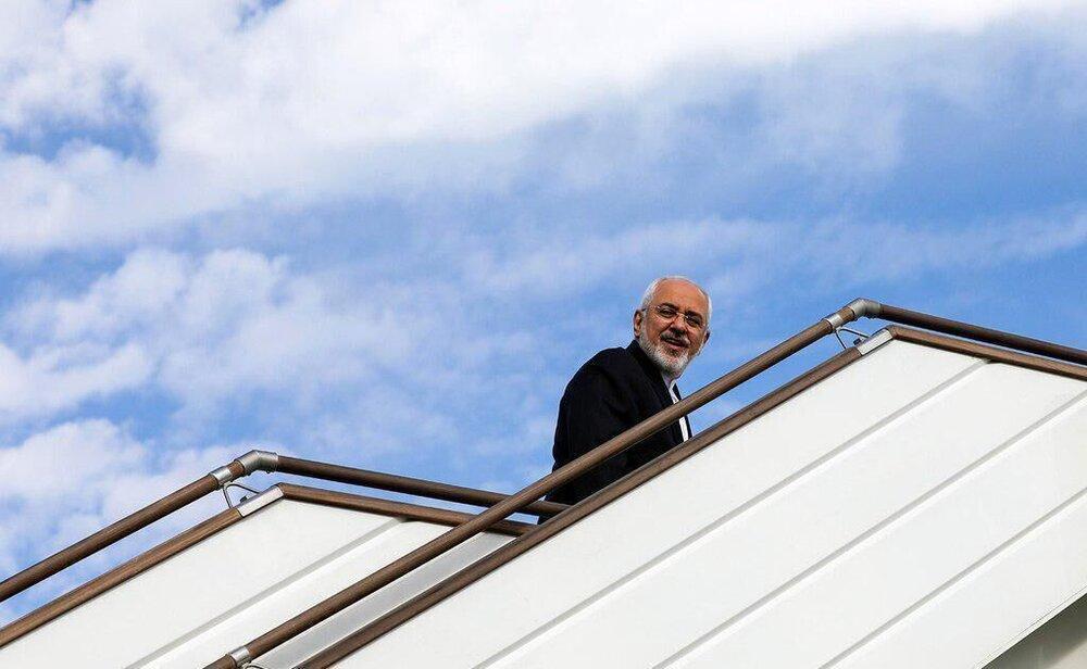 ظریف بعد از روسیه به کجا سفر می نماید؟