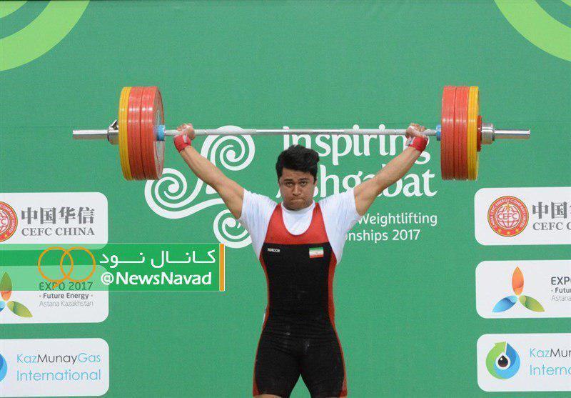 تک مدال برنز موسوی در وزنه برداری قهرمانی جهان 96 کیلوگرم، وداع تلخ کیانوش با مسابقات