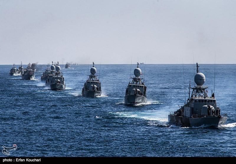 رزمایش مشترک دریایی ایران و چین با حضور 1400 نیروی نظامی برگزار گردید