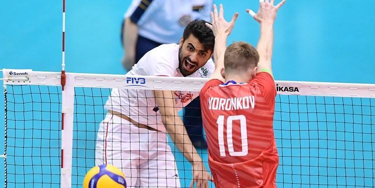 جام جهانی والیبال، غفور امتیازآورترین بازیکن ایران مقابل آمریکا شد