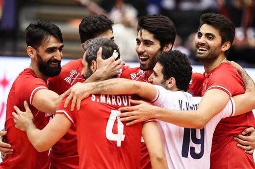 تیم ملی والیبال ایران نامزد بهترین تیم ورزشی آسیا در سال 2019