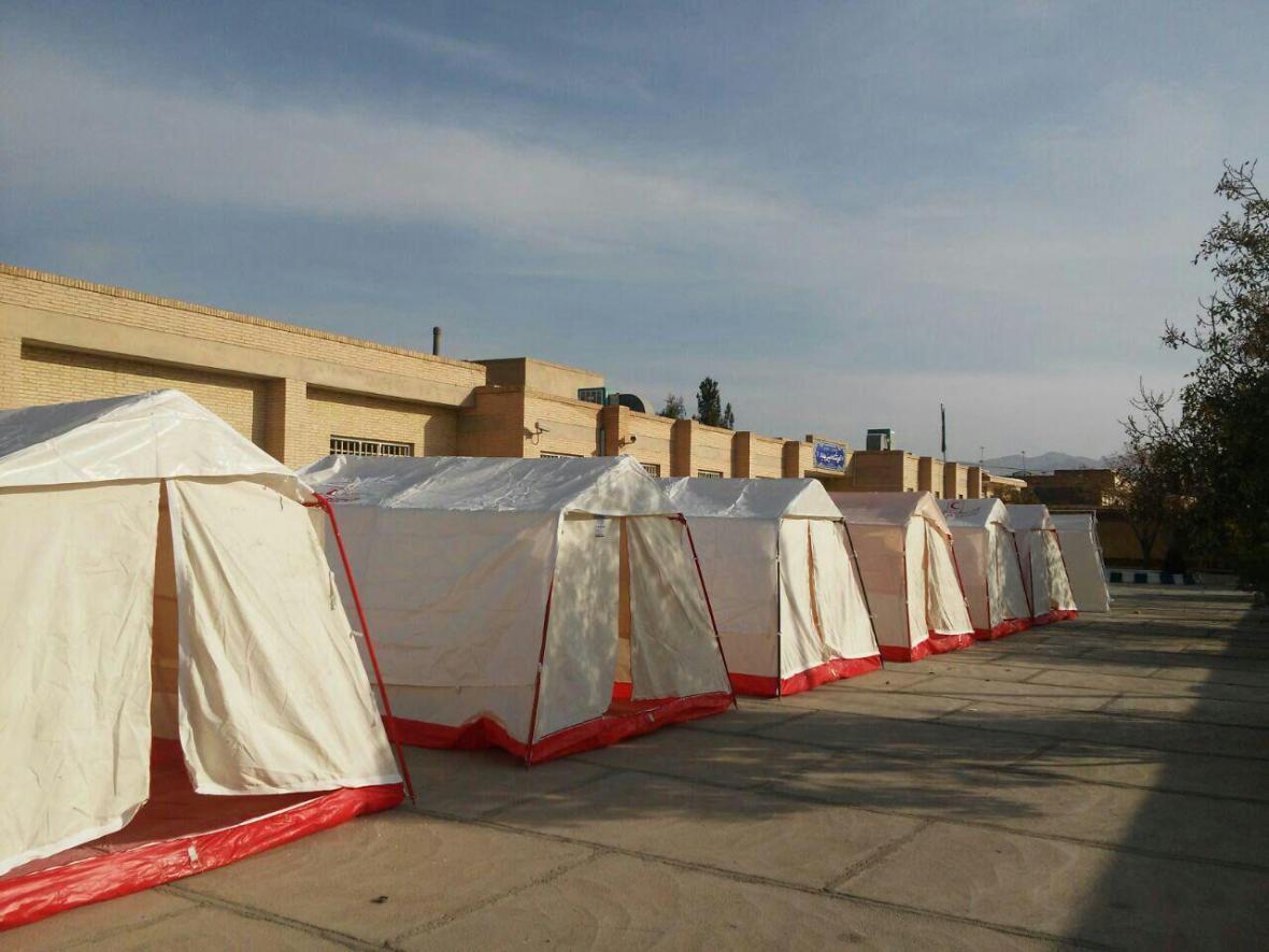 455 خانوار زلزله زده در آذربایجان شرقی اسکان اضطراری یافتند