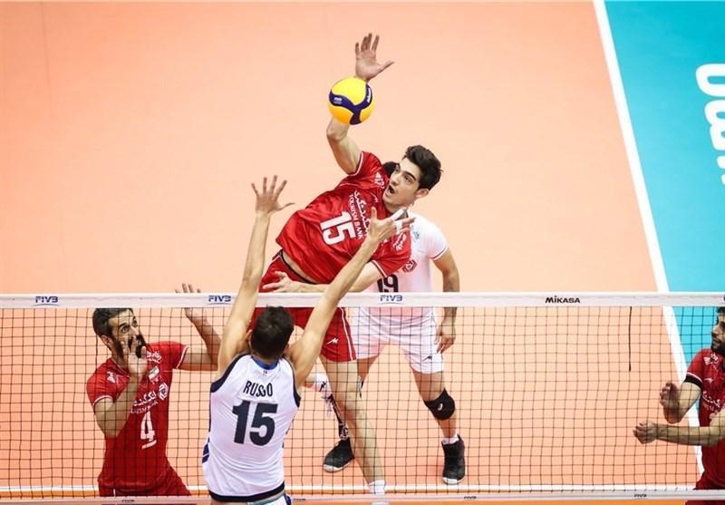 والیبال انتخابی المپیک، ساعت بازی های ایران تعیین شد