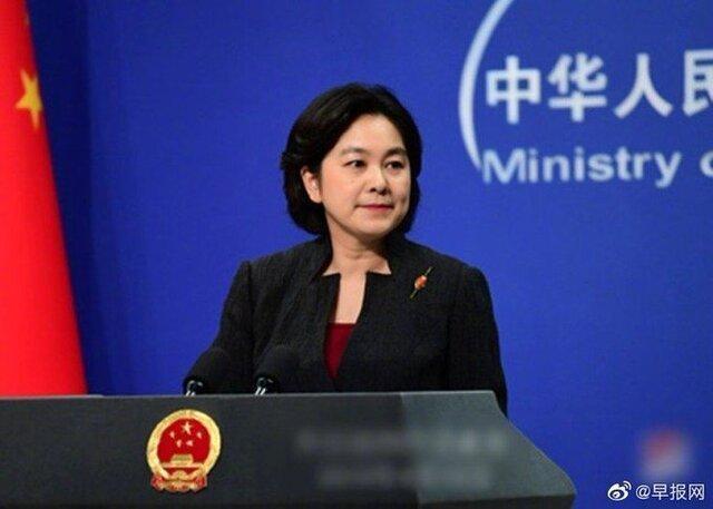 سخنگوی وزارت خارجه چین: ظریف اولین وزیر خارجه ای بود که از مبارزه چین با کرونا حمایت کرد
