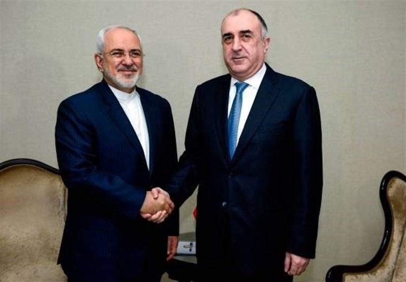 گفتگوی تلفنی ظریف و وزیر خارجه جمهوری آذربایجان