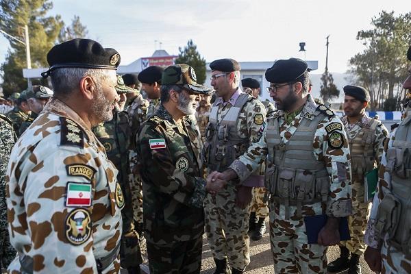 بازدید فرمانده کل ارتش از چند مرکز آموزشی نزاجا