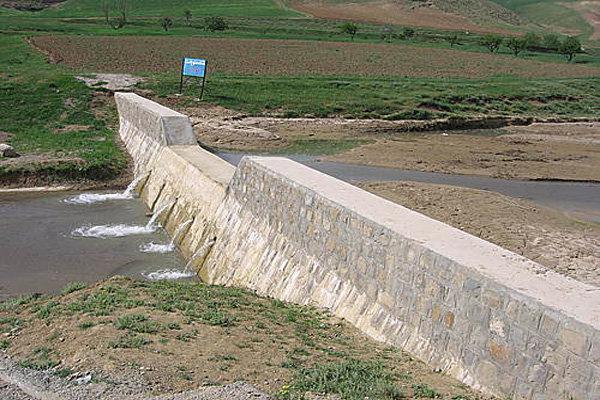 بخشی از حوضه های آبخیز بخش آسارا بازسازی شد