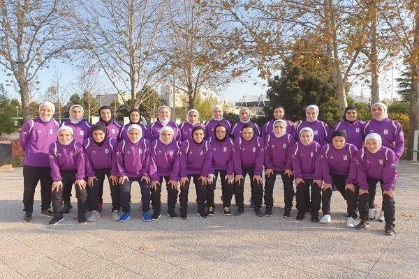 برگزاری اردوی تدارکاتی تیم فوتسال بزرگسالان بانوان