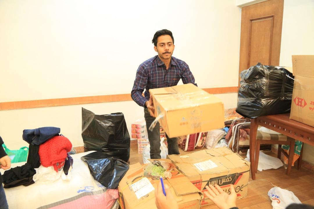 یاری های جمع آوری شده در دانشگاه تهران به سیستان و بلوچستان ارسال شد