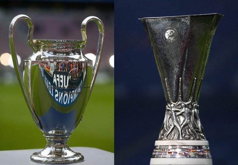 توپ های جدید لیگ قهرمانان و لیگ اروپا رونمایی شد