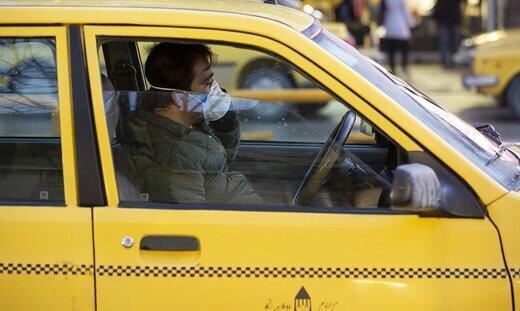 کاهش40 درصدی مسافران تاکسی، توزیع مواد ضدعفونی کننده به تاکسیرانان