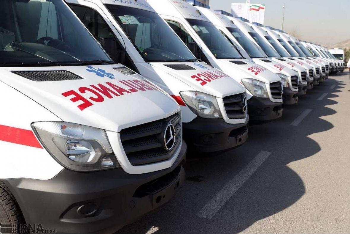 خبرنگاران 50 دستگاه آمبولانس آماده تحویل به ناوگان امدادی کشور