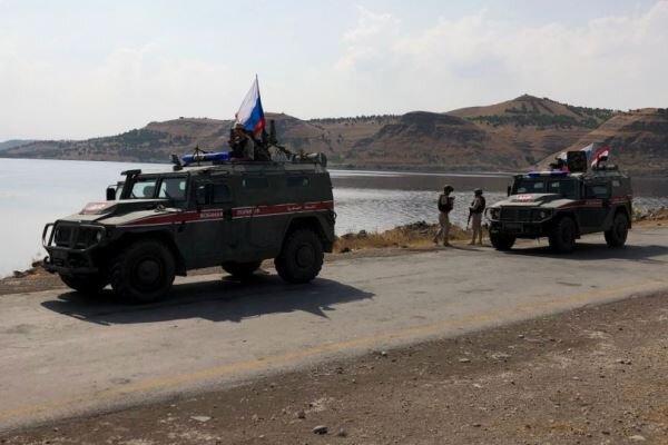 انتقال تجهیزات نظامی نیروهای روسیه به 2 منطقه در استان حلب