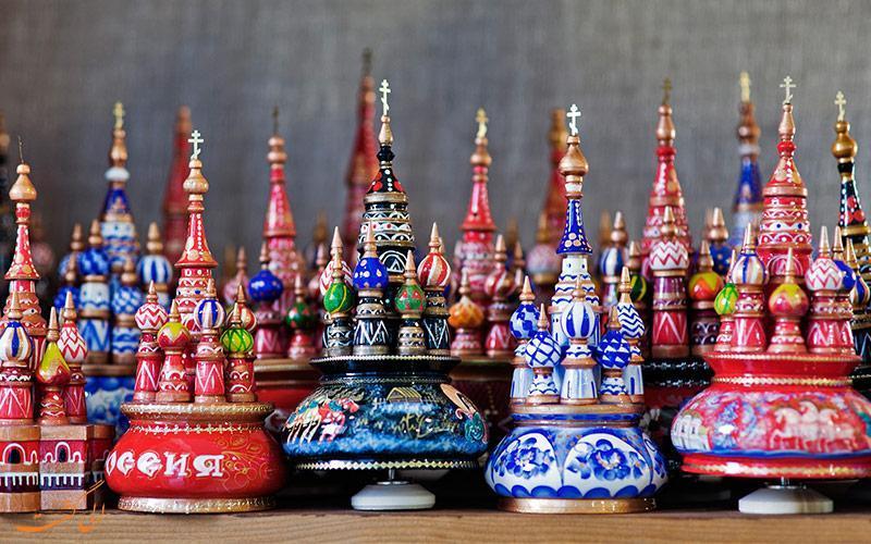 از روسیه سوغاتی چه بیاوریم؟
