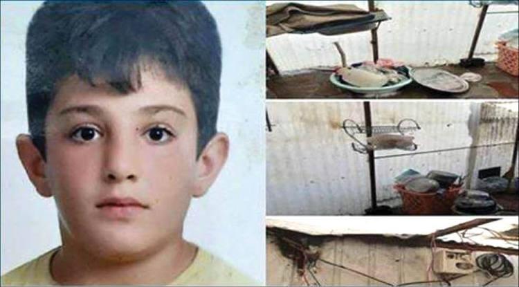 (عکس) سه سال بعد از زلزله؛ مرگ تلخ پسر 10ساله در کانکس موقت زلزله زدگان!