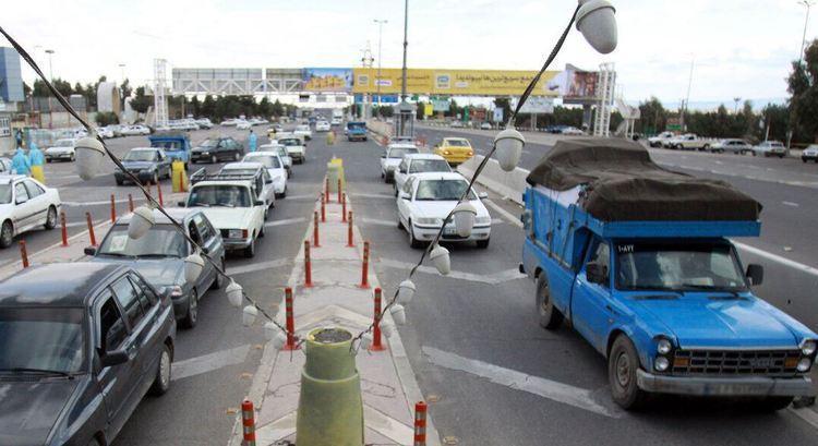 ترافیک سنگین در محور های ورودی به سمت تهران