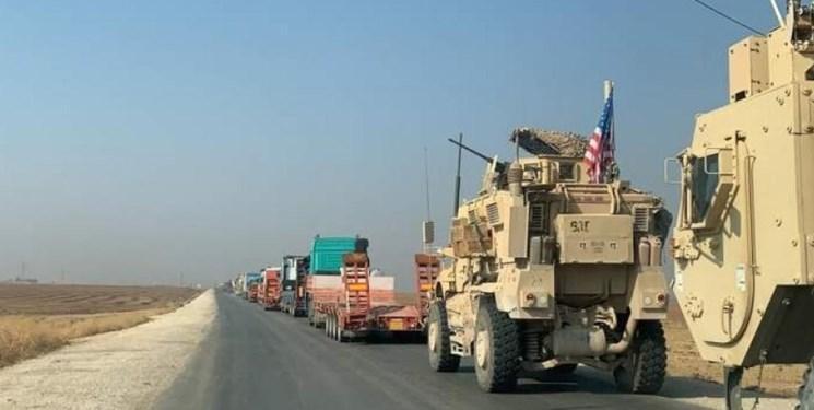 ورود 70 کامیون آمریکایی حامل سلاح و تجهیزات به شمال شرق سوریه