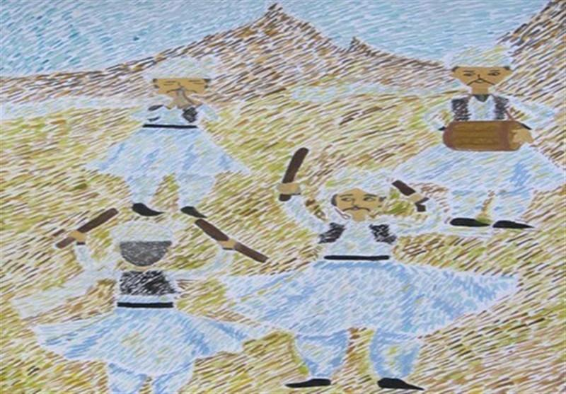 نقاشی نوجوان سیستان و بلوچستانی در مسابقه سرزمین مادری بلاروس برگزیده شد