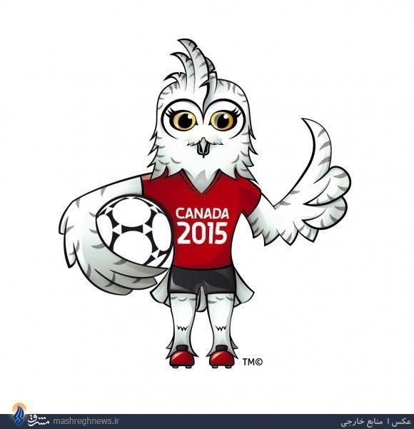 رونمایی از نماد جام جهانی 2015 زنان