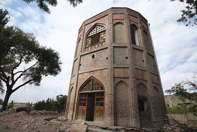 تکمیل بازسازی برج خلعت پوشان تبریز طی سالجاری