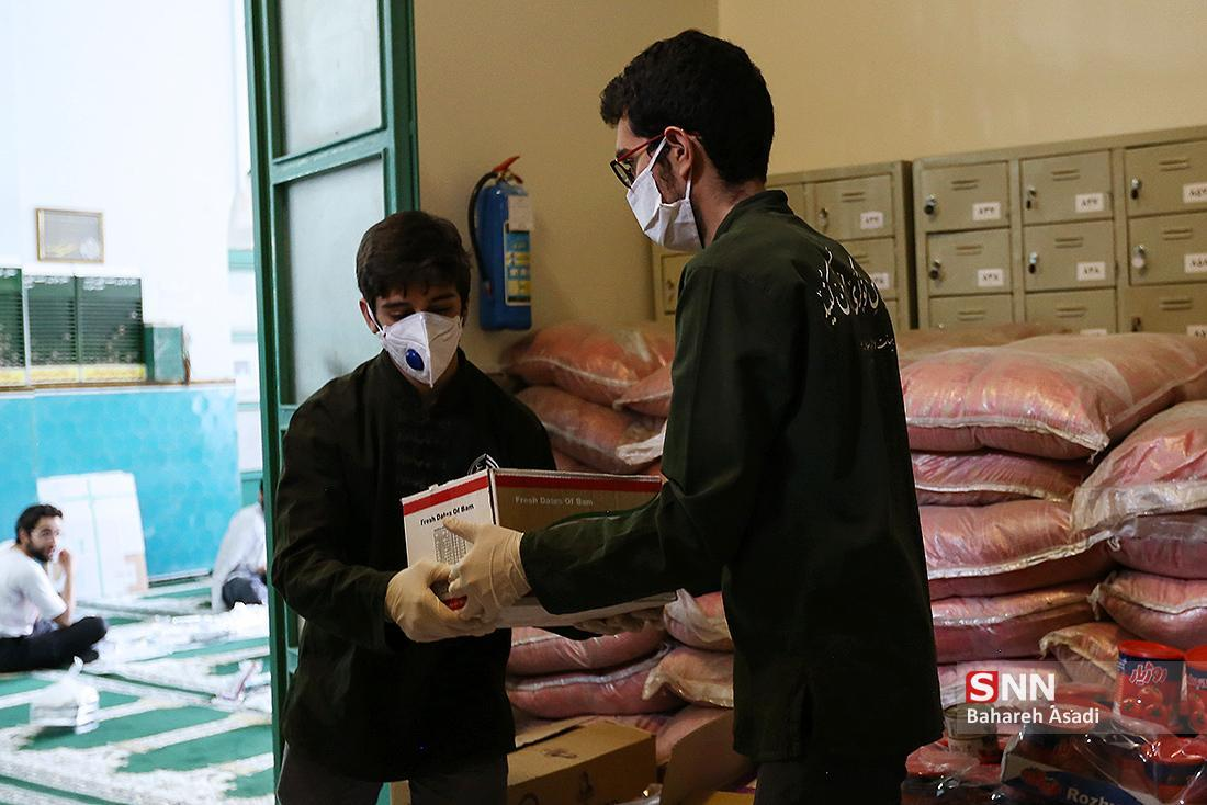 اجرای طرح فقط به عشق علی به همت دانشجویان جهادگر علوم پزشکی قم