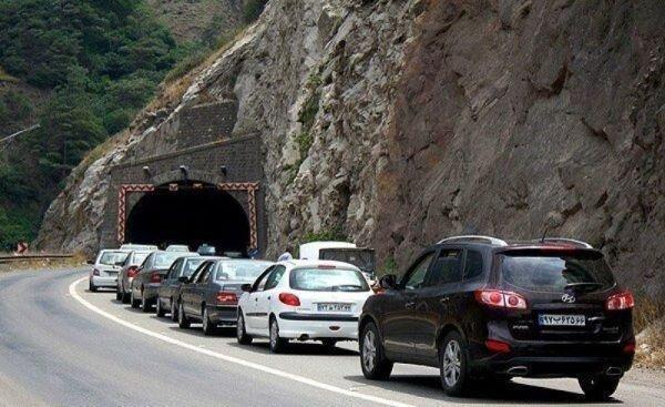 کرونا فراموش شد؛ آزادراه تهران - شمال بسته شد ، هجوم مسافران به جاده چالوس