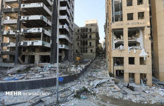 بر اثر انفجار بیروت 60 نفر مفقود شده اند