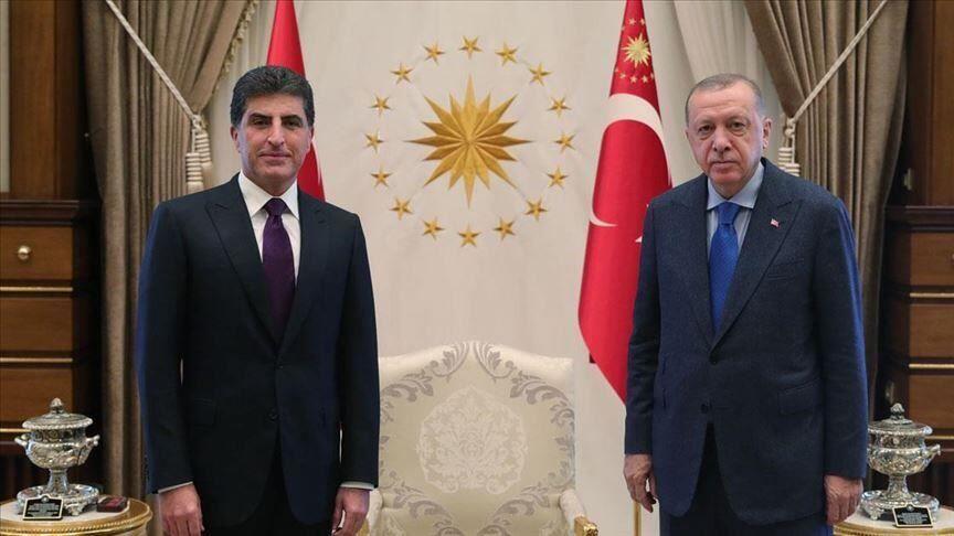 خبرنگاران بارزانی محتوای ملاقات با اردوغان را فاش کرد