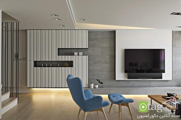 آنالیز طراحی داخلی خانه مدرن با طراحی بسیار ساده و شیک
