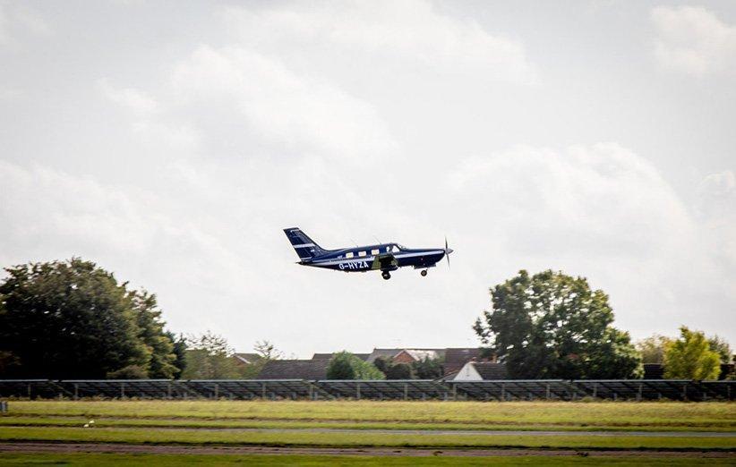نخستین هواپیمای هیدروژنی مسافربری پرواز میدانی خود را انجام داد