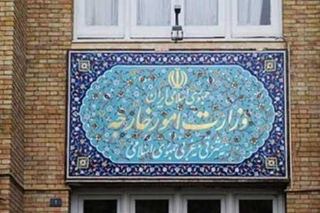 احضار سفیر فرانسه در تهران به وزارت خارجه ، ابلاغ اعتراض ایران به بیانیه دیروز این کشور