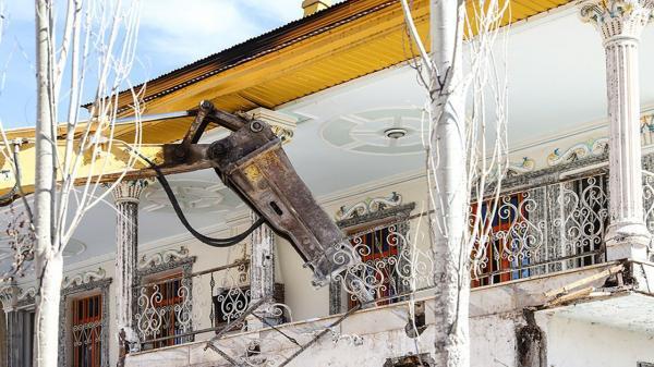 5 هزار متر ویلای غیرمجاز دو مقام مسئول تخریب شد