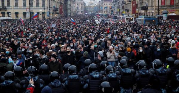 خبرنگاران نخستین اصطکاک دولت بایدن با روسیه با چاشنی ناوالنی