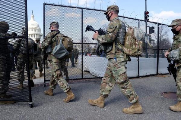 2300 نیروی گارد ملی دو ماه دیگر اطراف کنگره آمریکا می مانند