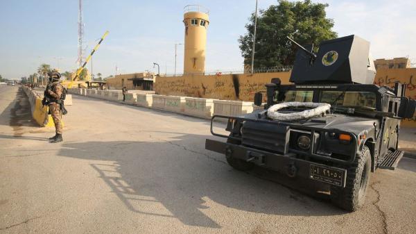 خبرنگاران آماده باش نظامیان آمریکایی در عراق
