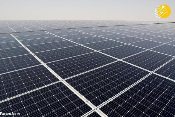 (تصاویر) بازدید جان کری از بزرگترین نیروگاه خورشیدی جهان