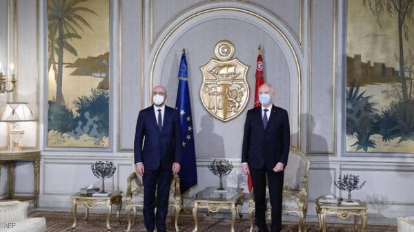 تاکید اتحادیه اروپا بر حمایت از فرایند سیاسی تونس