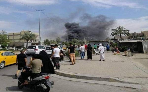 خبرنگاران انفجار بغداد یک کشته و 12 زخمی برجای گذاشت