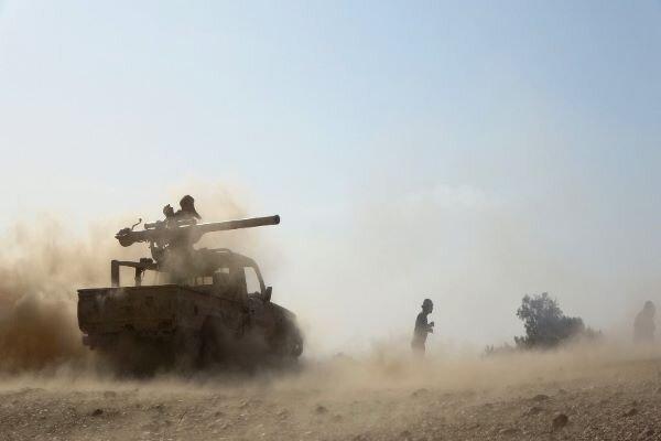 تسلط بر یک منطقه استراتژیک در مأرب، زخمی شدن فرمانده ارتش هادی