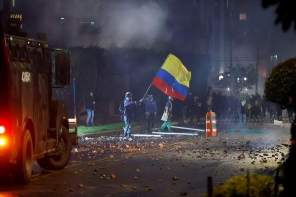 8 کشته و 28 زخمی نتیجه چهارمین روز متوالی اعتراض ها در کلمبیا