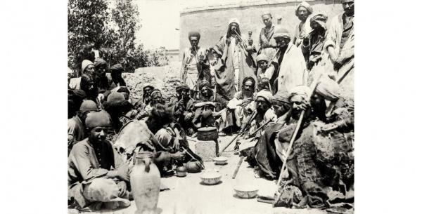تصاویری دیدنی از ایران قدیم در نمایشگاه عکس های سوروگین مسکو