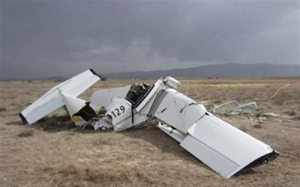 هواپیمای فوق سبک در اراک چرا سقوط کرد؟